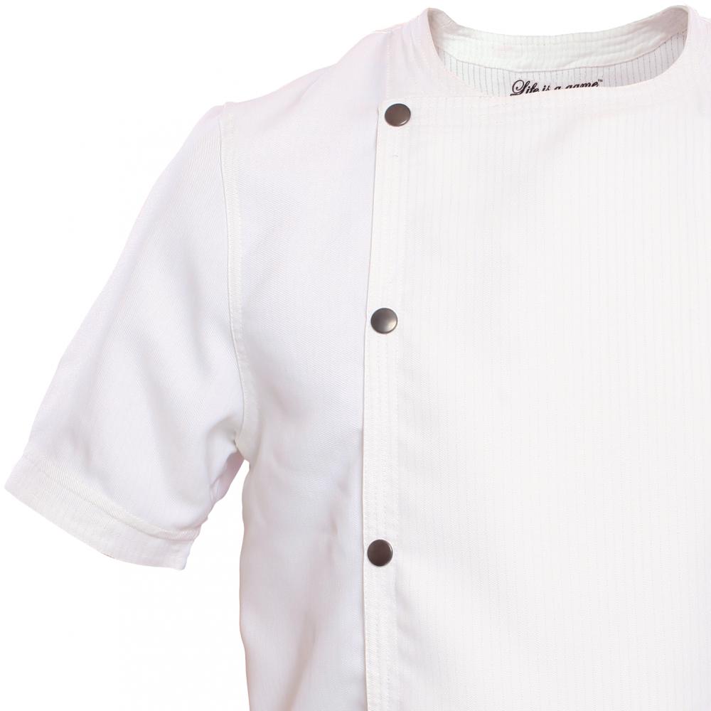 Life origine mc blanc, veste de cuisine homme homme life is a game